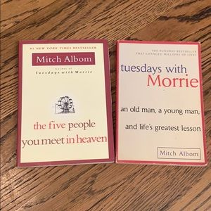 Mitch Albom Tuesdays w/ Morrie & The 5 people...